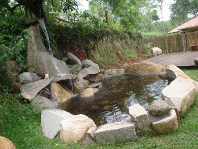 Cascada zen de la comuna for Cascadas jardin zen